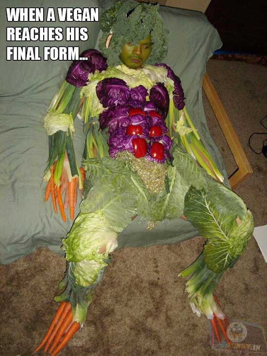 Meet The Vegan Overlord