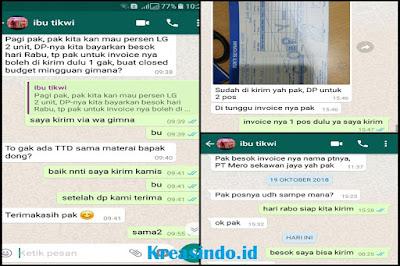 Pos Jaga Satpam pesanan PT Mero Sekawan Jaya Cikupa Tangerang
