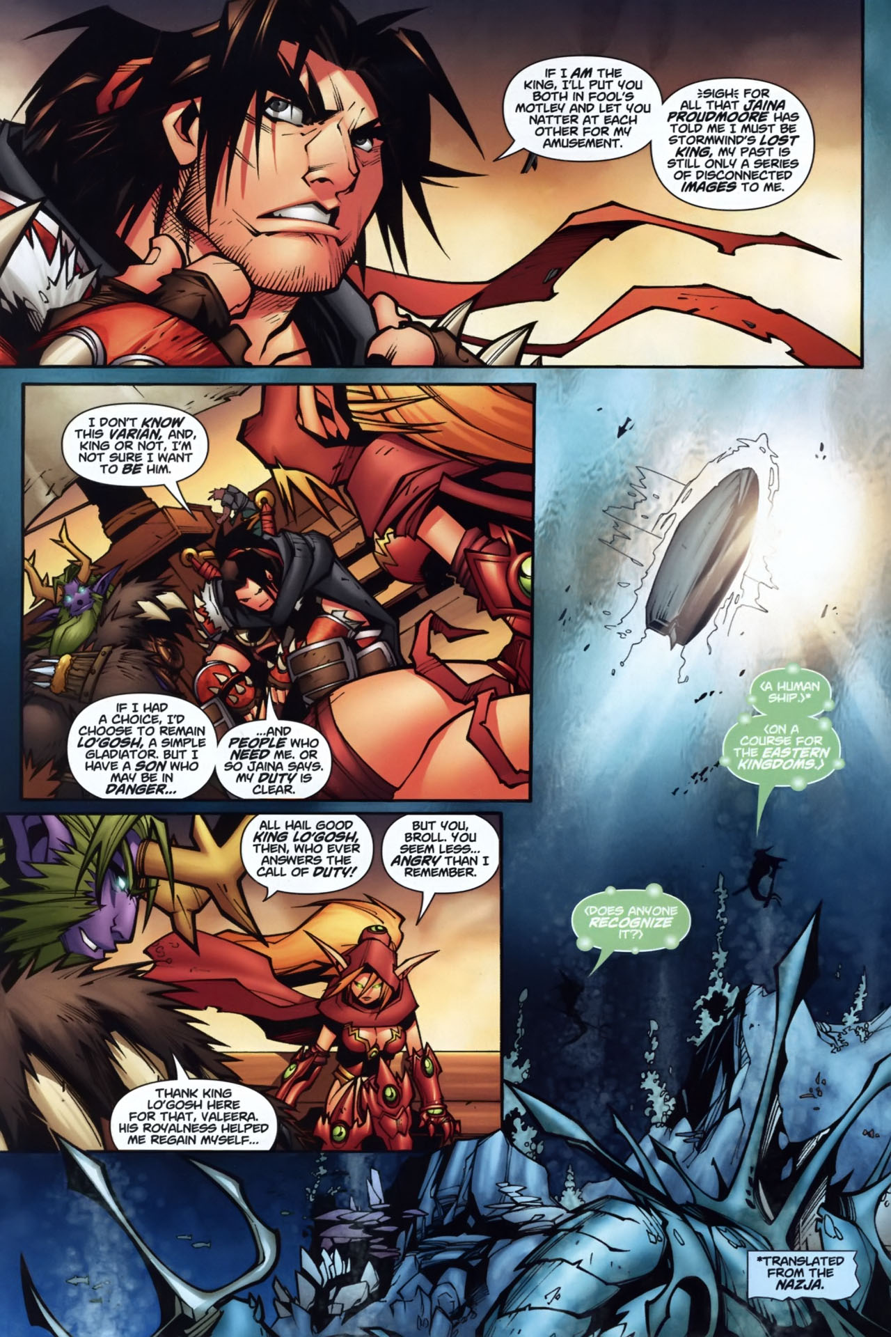Read online World of Warcraft comic -  Issue #7 - 3