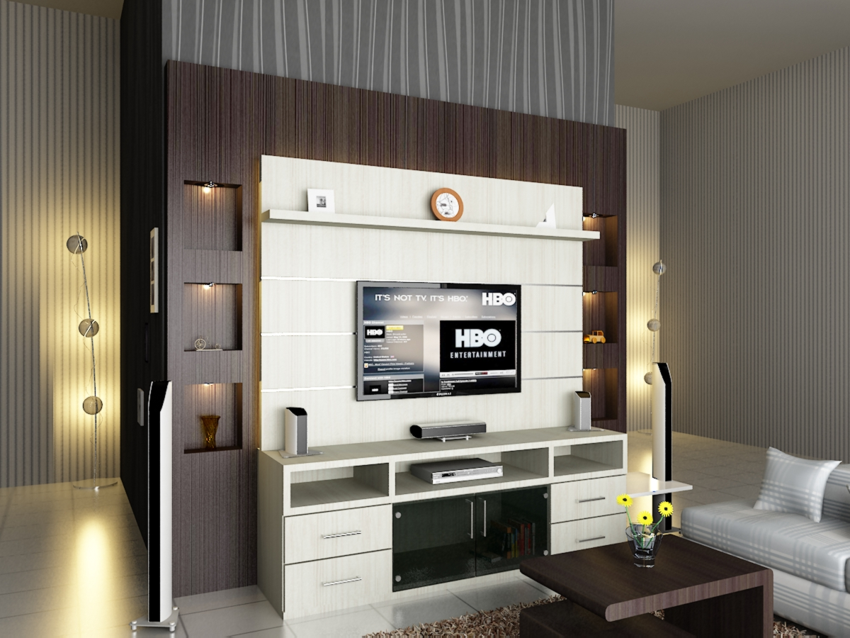 Harga Furniture Rumah Minimalis Rak Tv - Dian Interior Design