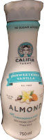 Califia Farms unsweetened vanilla almond milk