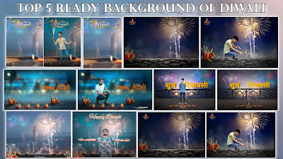 Top 5 Diwali Background With Photo Manipulation Ideas
