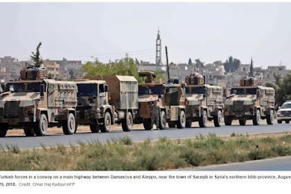 Observatorium Suriah: Oposisi Bersenjata Mulai Mengimplementasikan Perjanjian Idlib