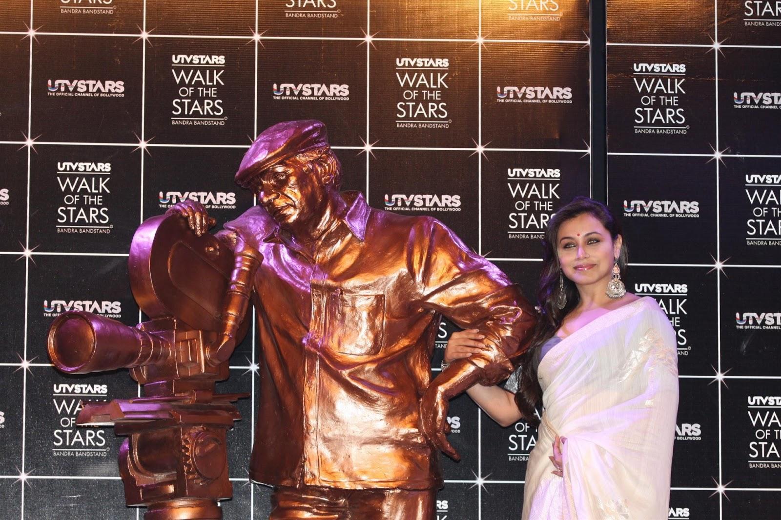 Rani mukherjee at yash chopra statue launch