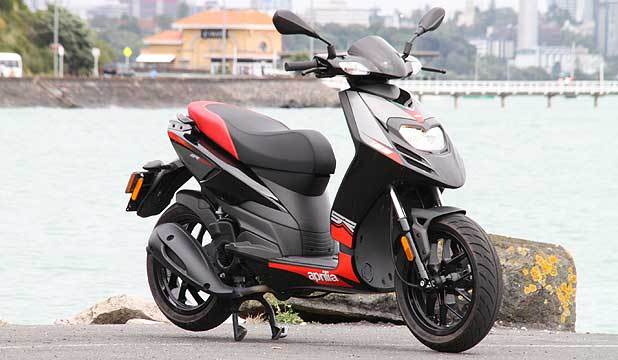 New Aprilia SR 125 in on the road