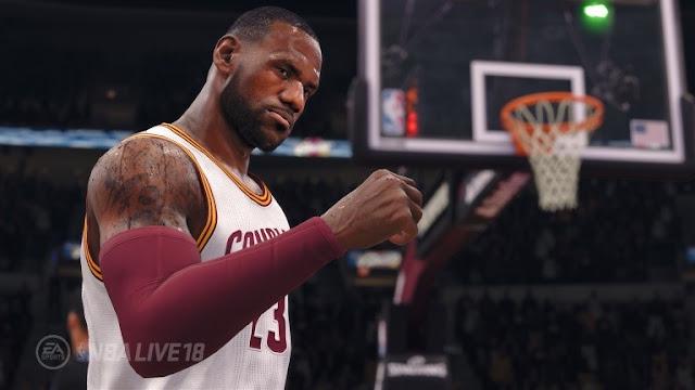 ديمو لعبة NBA Live 18 متوفر بالمجان على أجهزة PS4 و Xbox One