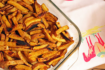 Vegan Taco Cleanse Grounding Sweet Potato Fries