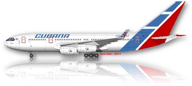 Cubana & su Ilyushin Il-96.
