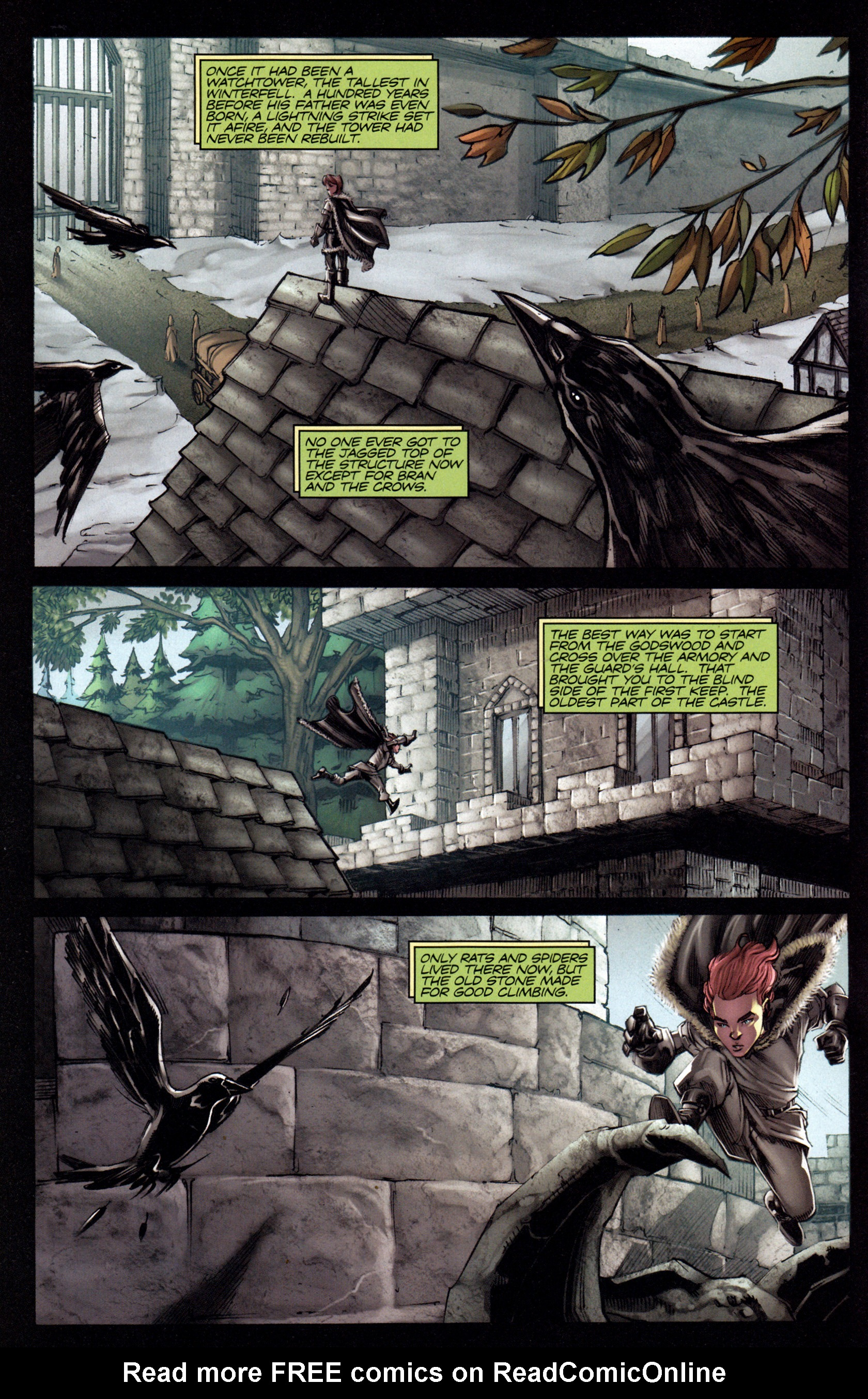 Read online A Game Of Thrones comic -  Issue #3 - 12