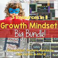 Growth Mindset Big Bundle for Developing the Growth Mindset in Your Classroom