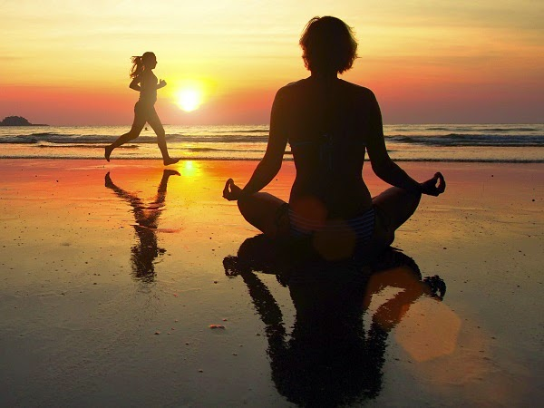 Meditación al amanecer