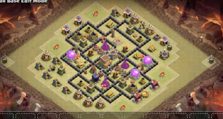 Town Hall 8 War Base