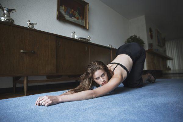 sexy pose hot model Kat Clark Photoshoot
