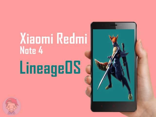 LineageOS Xiaomi Redmi Note 4