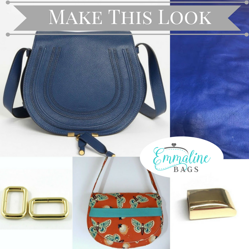 Emmaline Bags Sewing Patterns And Purse Supplies Handmade Couture Make This Look A Crossbody Saddle Bag