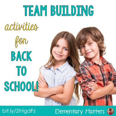 "Team Building Activities for Back to School - Here are five easy ""get to know you"" activities that can be used at any time to encourage working together."