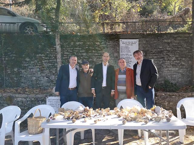 Ημερίδα-γιορτή για τα μανιτάρια πραγματοποιήθηκε στο Πολύδροσο Θεσπρωτίας