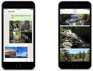 Fitur baru whatsapp Albums di iOS