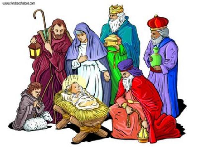 Imágenes De Los Reyes Magos Para Pintar Y Colorear
