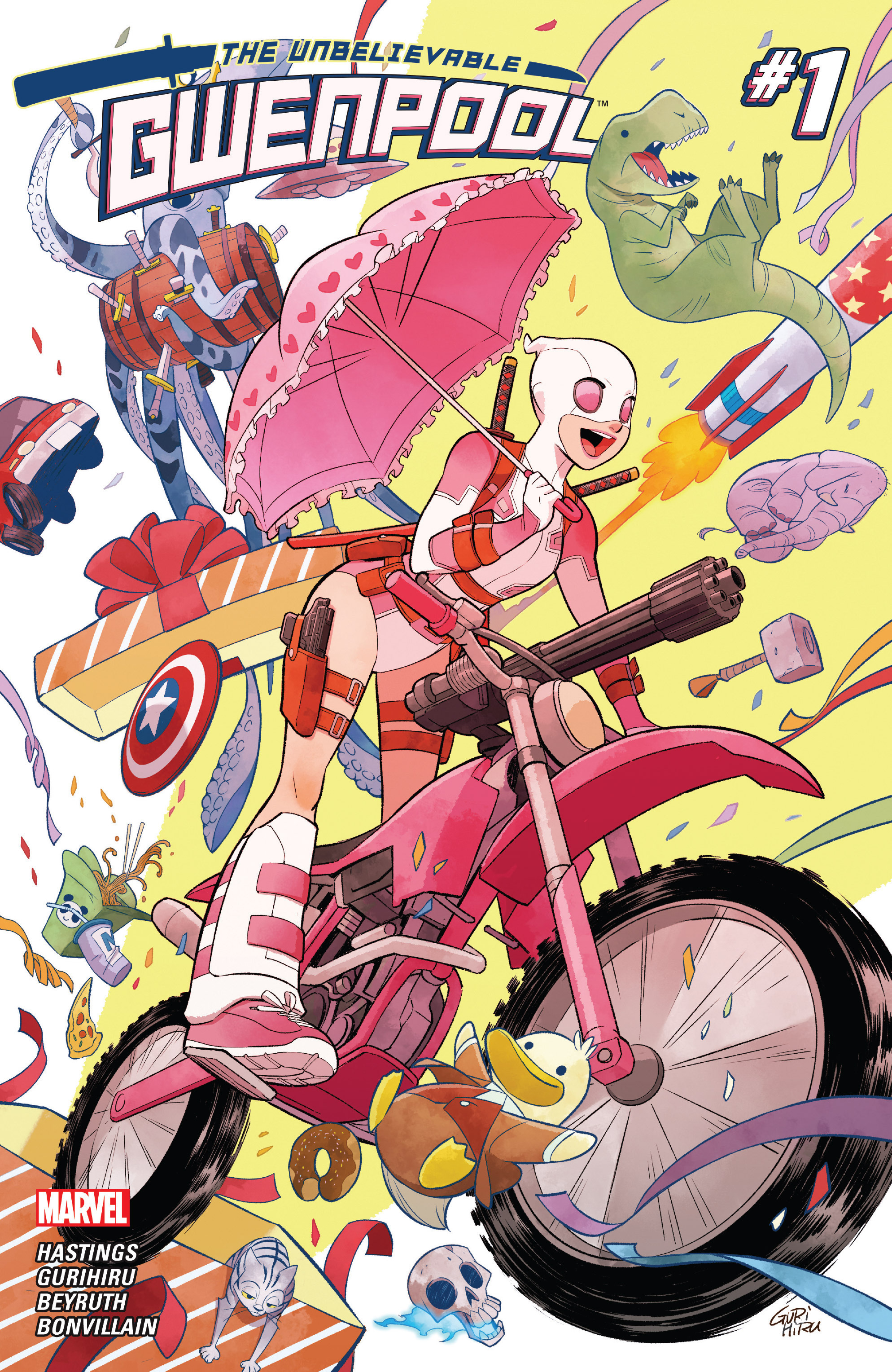 The Unbelievable Gwenpool 1 Page 1