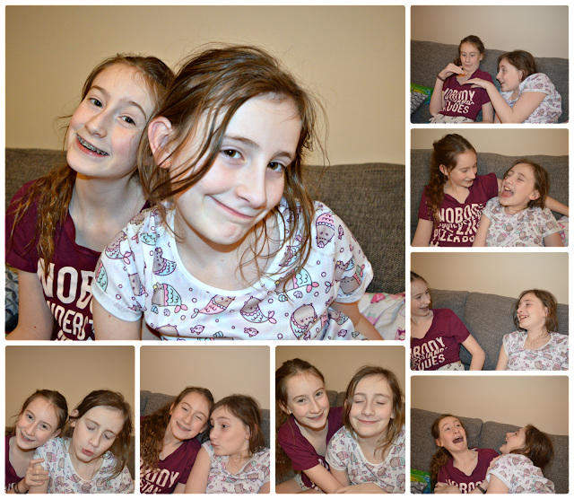 Stephs Two Girls Siblings collage January 2018