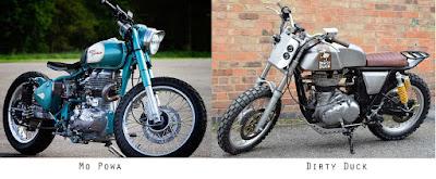 Royal Enfield Custom Bikes