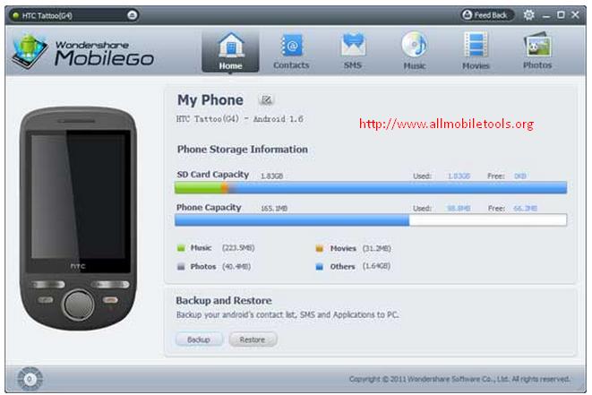 Wondershare MobileGo Latest Version V5.3.1 Free Download