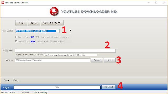برنامج التحميل من يوتيب مجانا Youtube Downloader HD