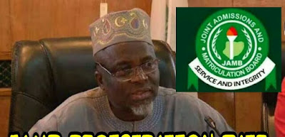 JAMB Registrar Talks on phone number (SIM) for registration photo