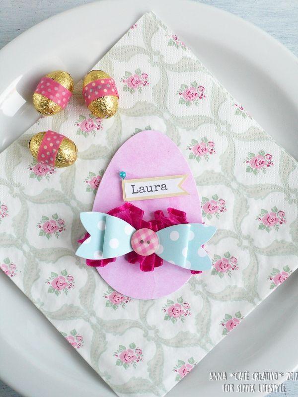 Easter Egg per segnaposti di Pasqua