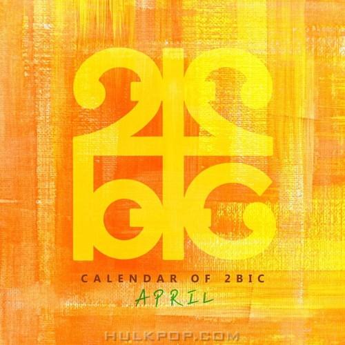 2BIC – Calendar of 2BIC (April) – Single