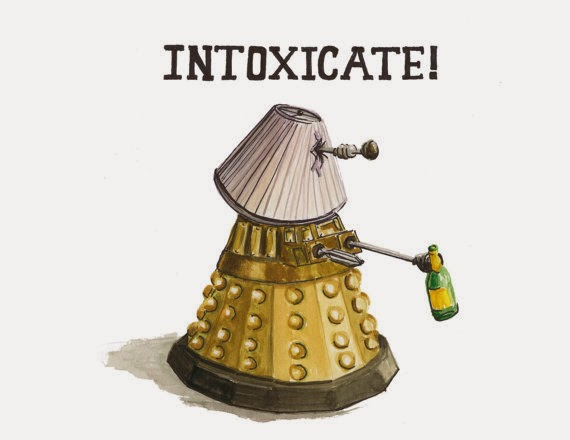 Daleks, the life of the party.