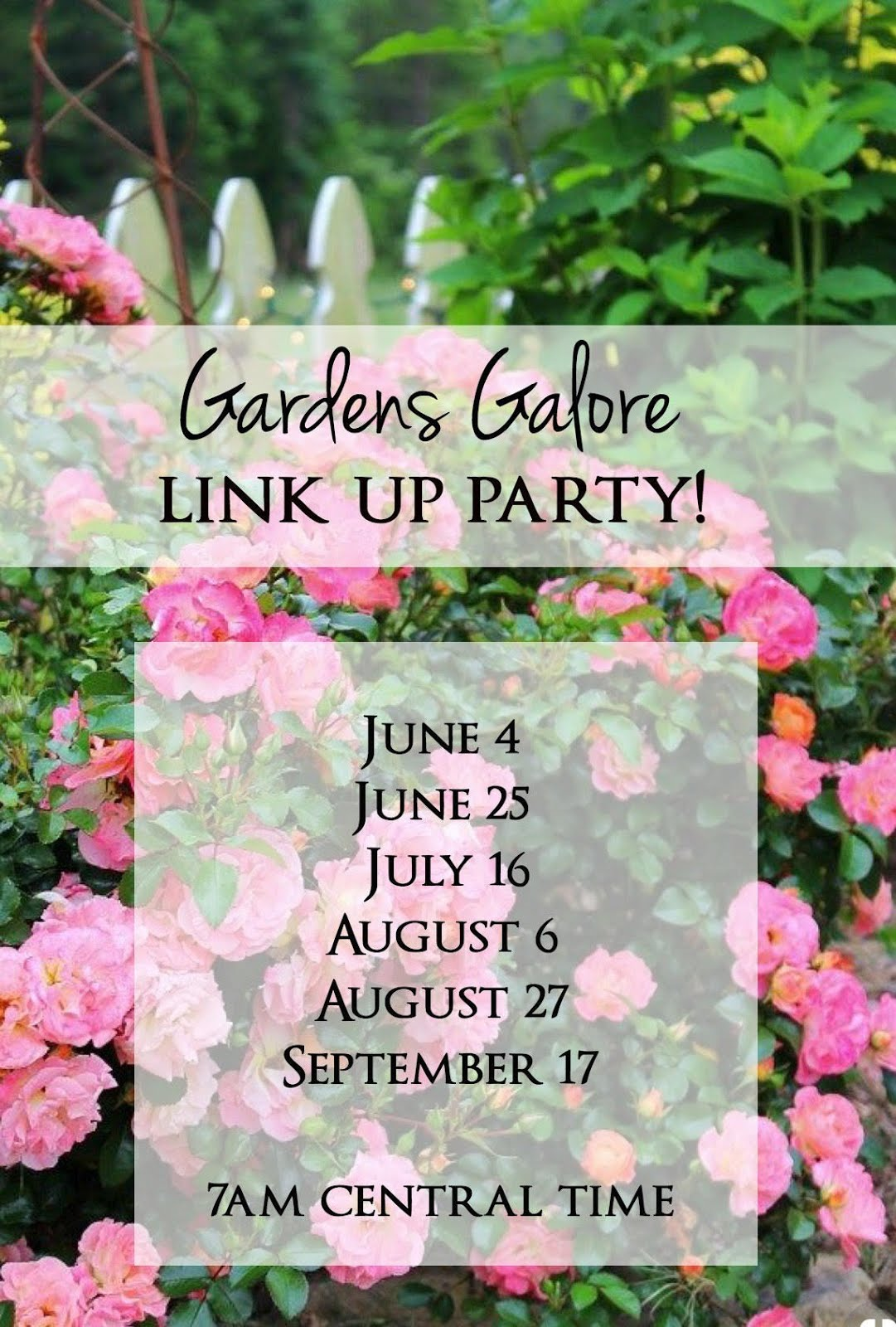 Gardens Galore Link Up Party