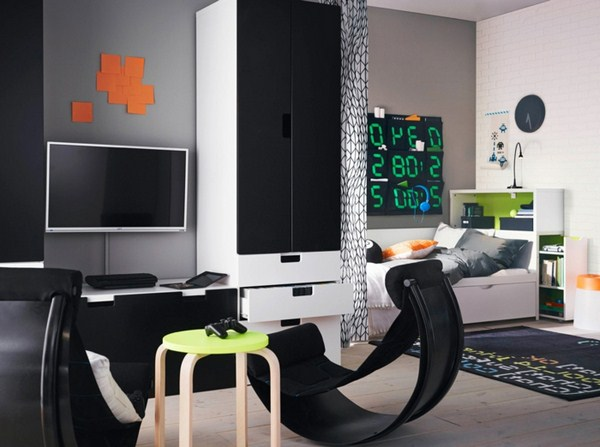 IKEA Wall Color Black Businessmen Living Room Tips