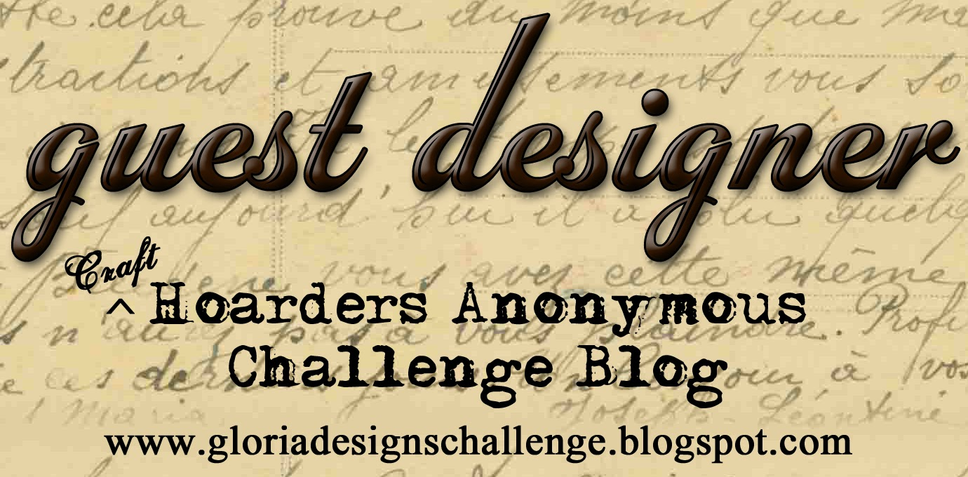 Join the fun challenges at Craft Hoarders Anonymous.