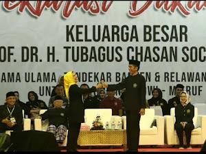 Ribuan Pendekar dan Ulama Banten Deklarasi Menangkan Jokowi-Ma'ruf Amin 2019
