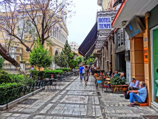 Ruas Aiolou e Agiou Markou, Atenas