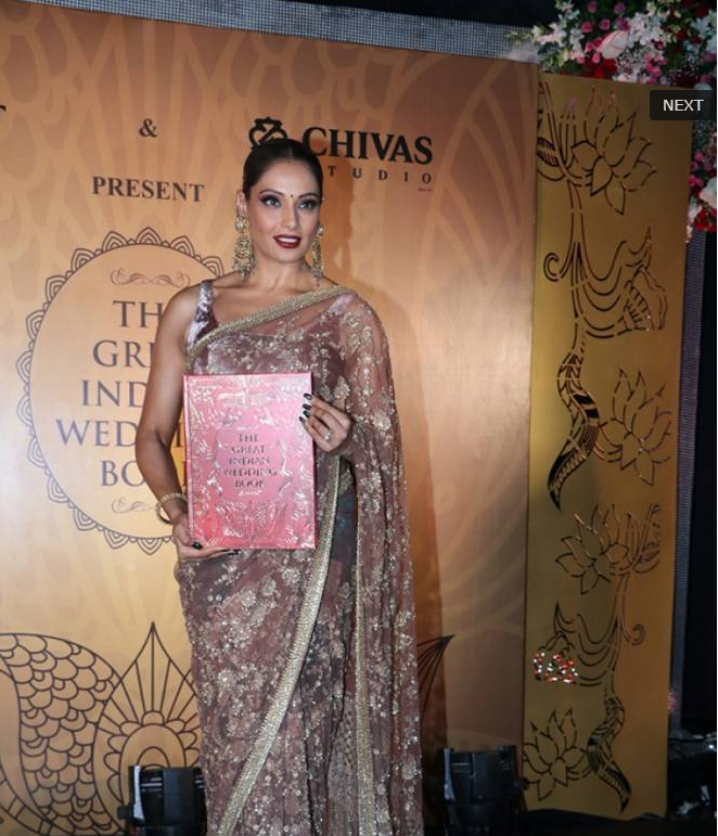 Bipasha Basu Launches 4th edition of 'The Great Indian Wedding Book'