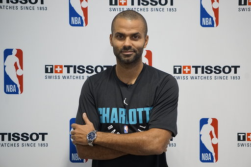 98515e04469e Join Tissot and the Charlotte Hornets for Exclusive Meet-and-Greet with  Newest Hornets Star TONY PARKER