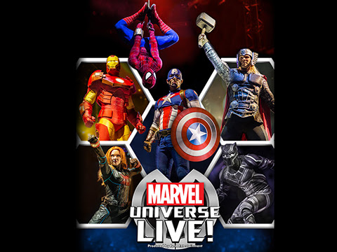 Coming to Detroit: Marvel Universe Live + GIVEAWAY CLOSED