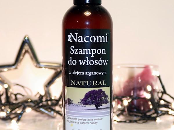 Nacomi, Szampon do włosów z olejem arganowym