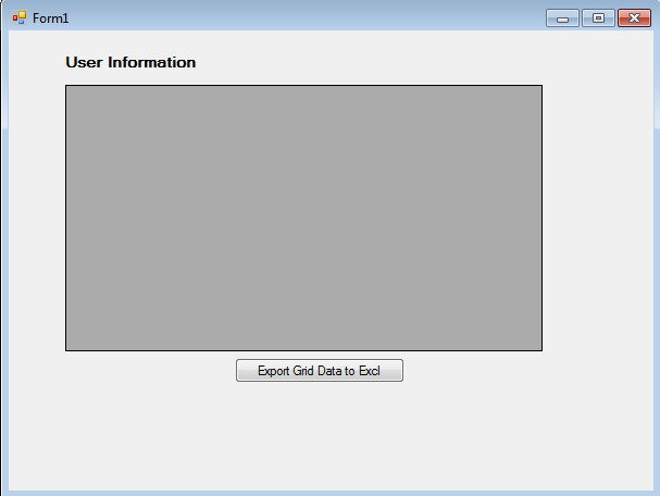 Export Datagridview Data to Excel in C# Windows Application (VB NET