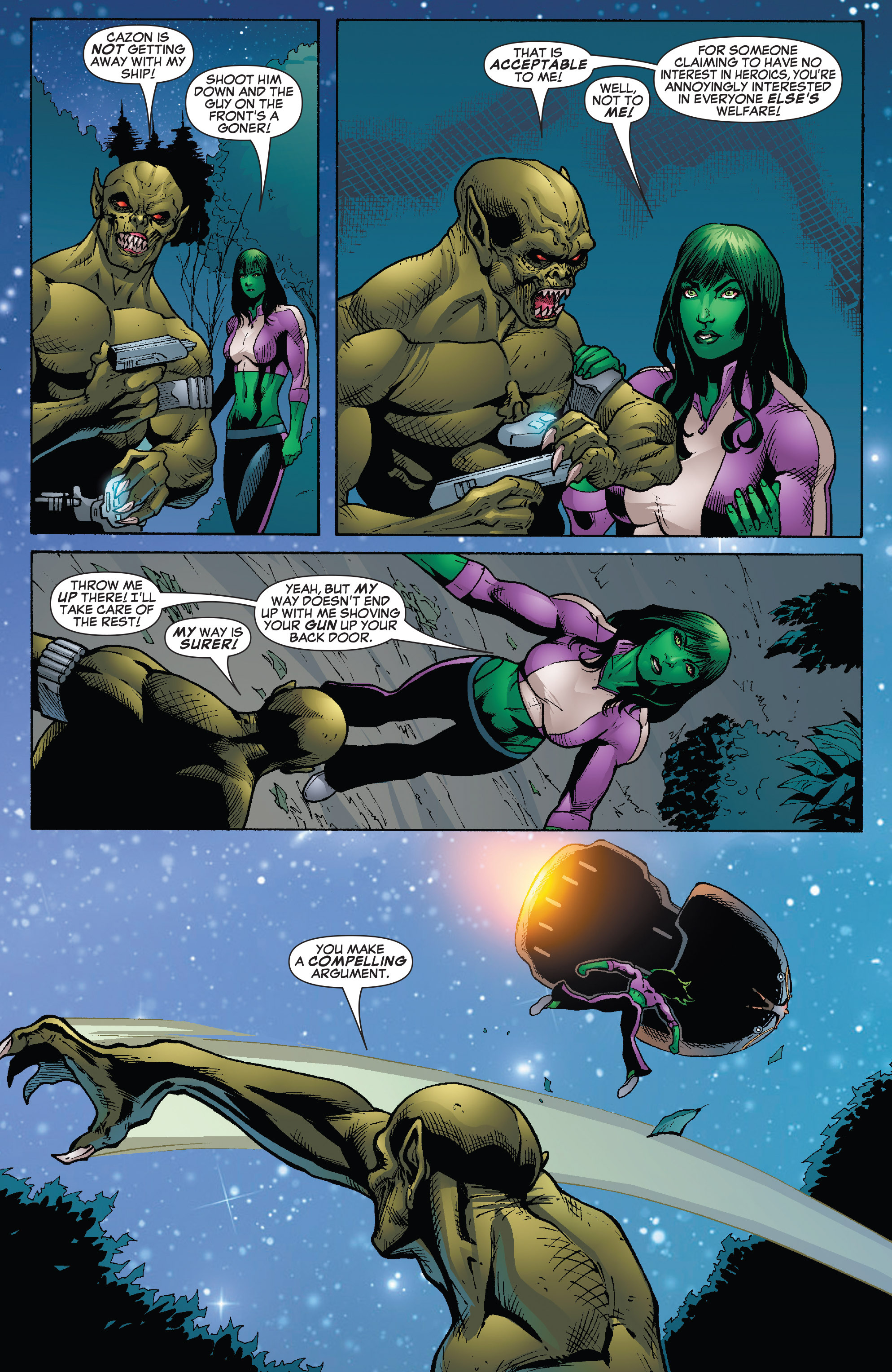 Read online She-Hulk (2005) comic -  Issue #26 - 15