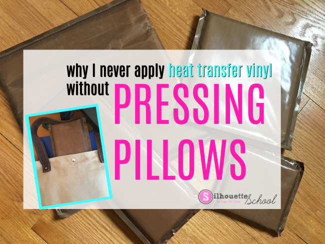 How And Why Pressing Pillows Are The Secret To Applying