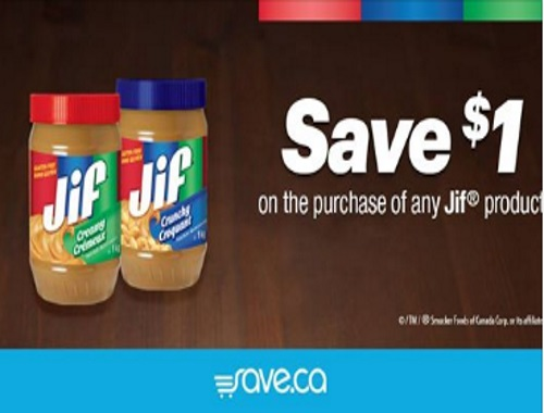 Save.ca Jiff $1 Off Coupon