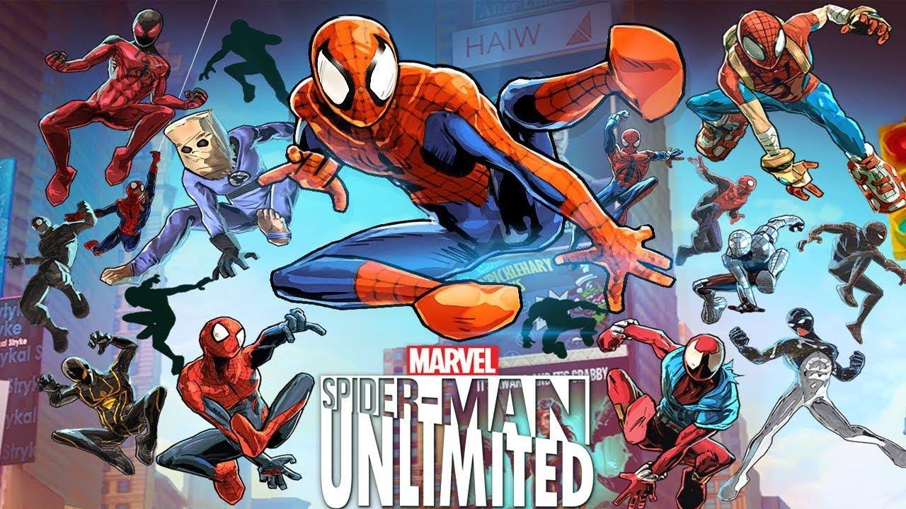 spider man unlimited game free download apk