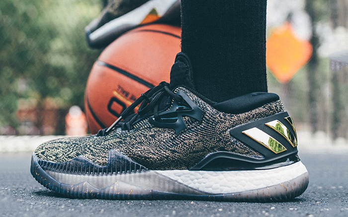 promo code 53735 b01eb adidas Crazylight Boost 2016 Black Gold
