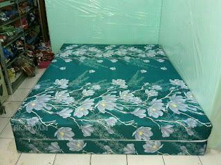 Kasur inoac motif bunga alya tosca ijo pupus