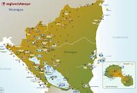 interactive tourist map NICARAGUA