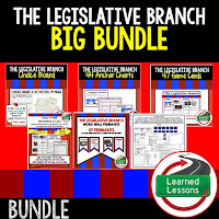 Legislative Branch, Civics Mega Bundle, Government Mega Bundle, Civics and Government Curriculum, Anchor Charts, Games, Digital Interactive Notebook, Google Classroom, Word Wall, Choice Boards, Guided Notes, PowerPoints, Test Prep, Document Based Questions